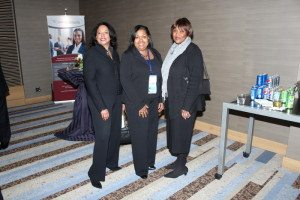 Marion Carrington, Denise Brooks Williams, and Ruth Brinkley