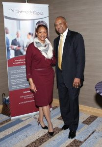 Toni Waller, CEO, TLN and Ernie Urquhart, TLN Board Chair