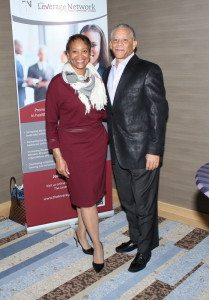 Toni Waller, CEO, TLN and John Bluford, CEO Emeritus, Truman Medical Center
